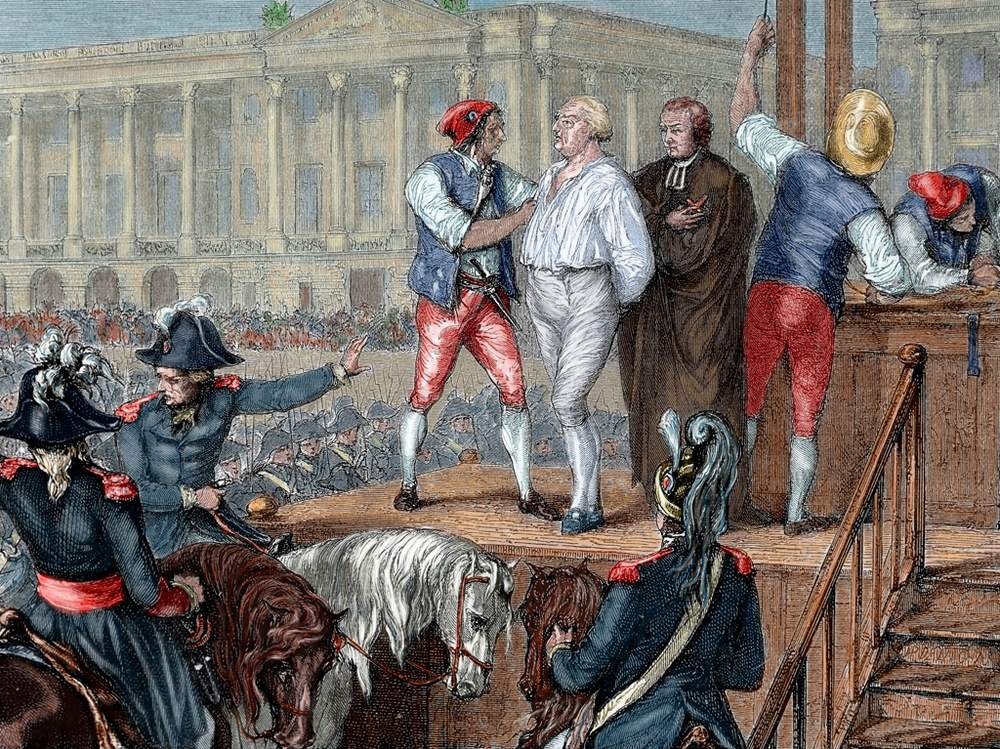 Execution of King Louis XVI, 21 January 1793