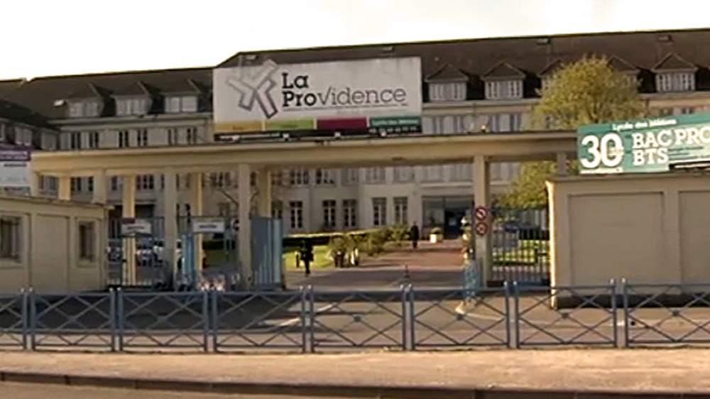 Macron attended La Providence school in Amiens