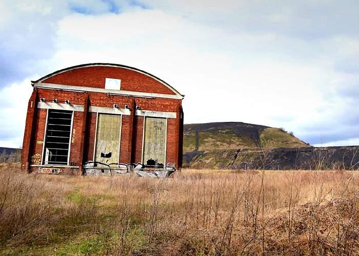 Derelict industrial buildingHenin-Beaumont, northern France