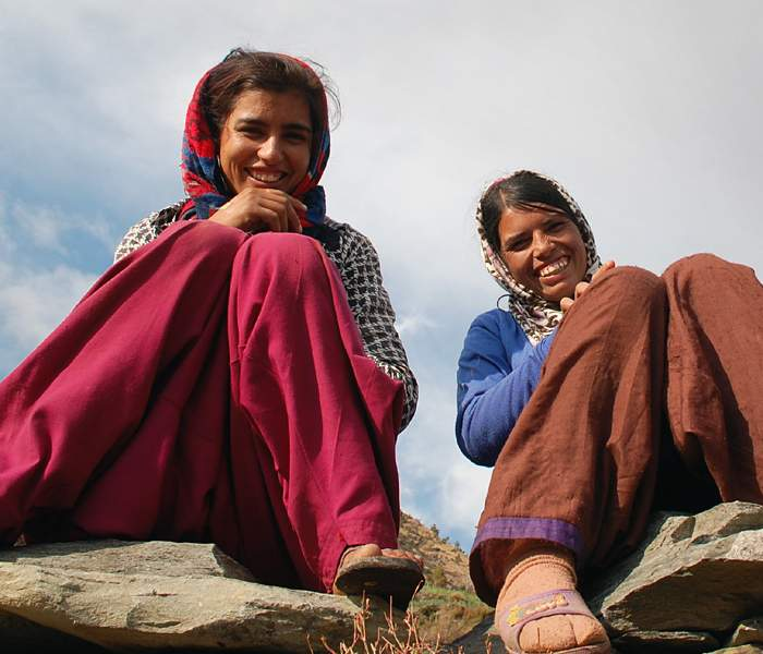 Nirmala and Laxmi