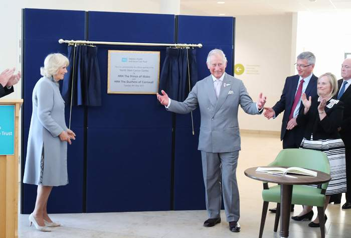 The Prince of Wales opened Altnagelvin's new cancer centre earlier this month