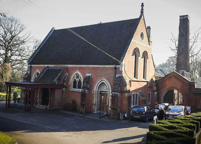 Крематорий в Уокинге, графство Суррей(Alamy)