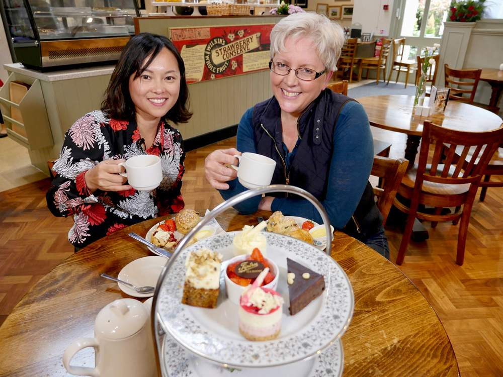 Tingting He and Carrie Gracie
