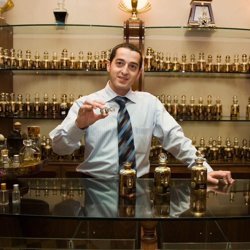 Perfume shop in Dubai