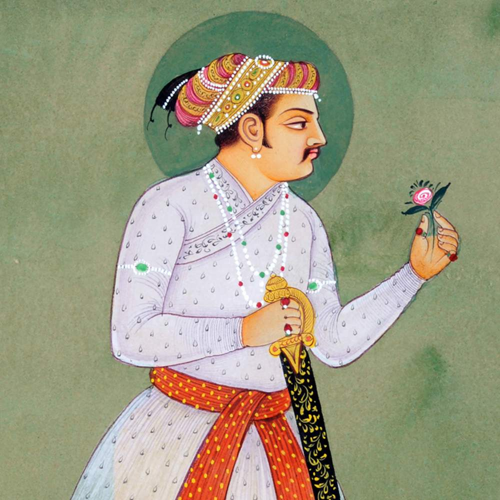 Painting of Jahangir