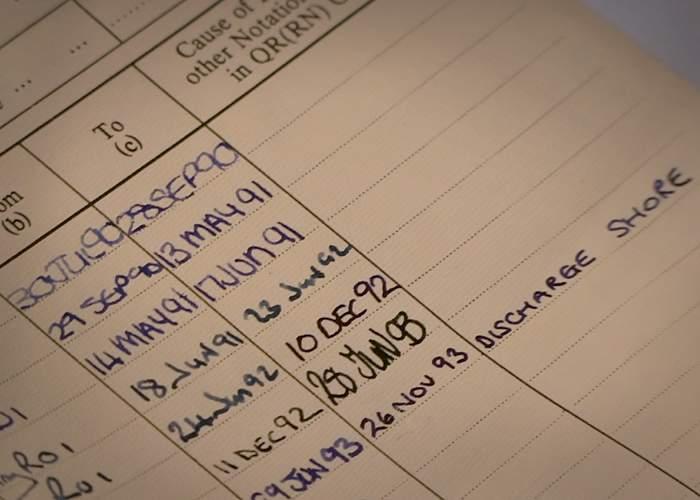 Emma's discharge sheet