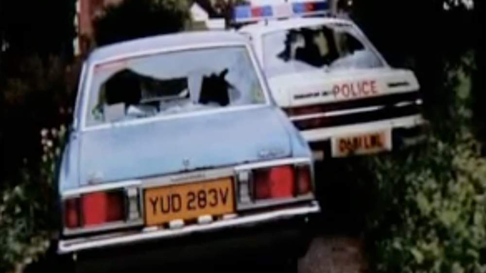 George White and PC Roger Brereton were in their cars when they were shot