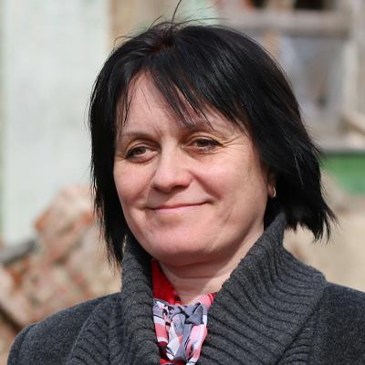 Глава королёвского отделения Всероссийского общества охраны памятников искусства Ольга Мельникова