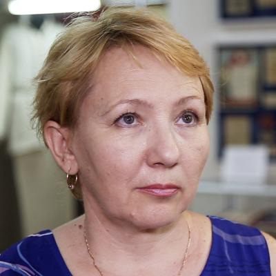 Научный сотрудник отдела истории Волгоградского краеведческого областного музея Светлана Золотова