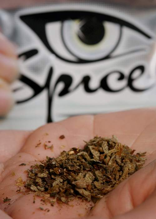"Spice is often called ""synthetic marijuana"" or ""fake weed"" (Image: EPA)"