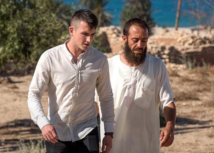 Callum later met Mustapha in North Africa
