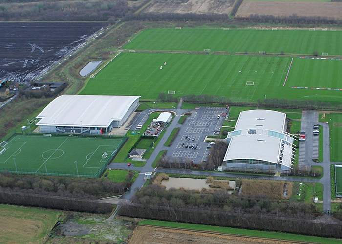 Manchester United's training centre at Carrington opened in 2000 and became the club's Academy home from 2002