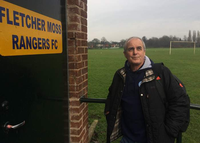 Dave Horrocks at Fletcher Moss Rangers FC