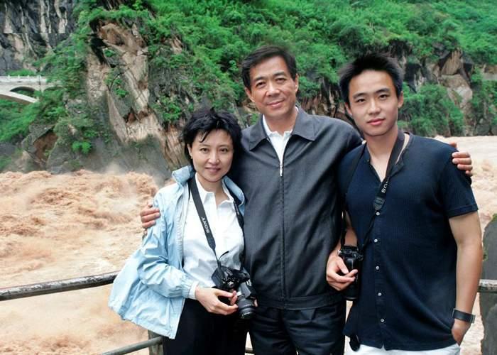 Gu, Bo and their son Guagua