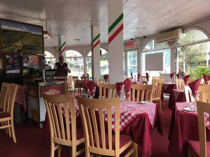 Valentino's restaurant, Bournemouth