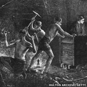 Miners in the 18th Century